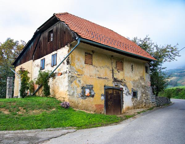 Zateplení fasády starého domu